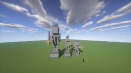 Stone Statues Big To Small Minecraft Map & Project