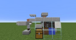 Automatic Carrot Wheat and Potato Farm! Uses Villager AI Minecraft Map & Project