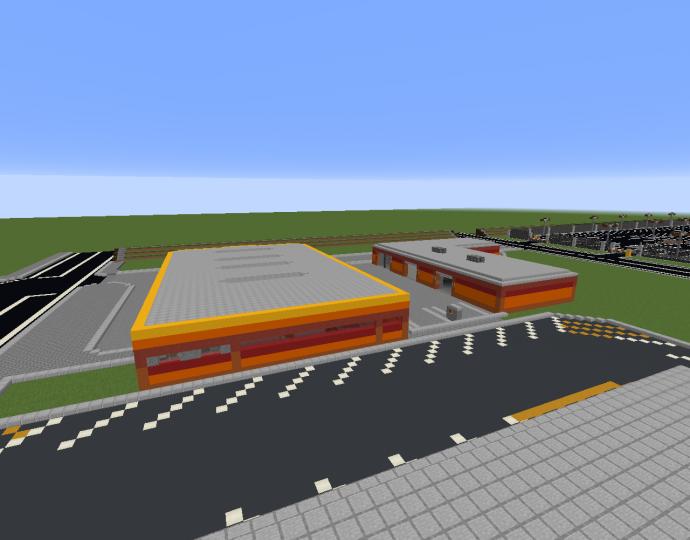petrolgas station