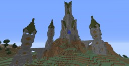 the witch towers Minecraft Map & Project