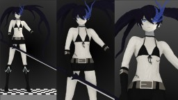 Black Rock Shooter Minecraft Project