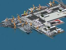 Navy Port/Docks Test Minecraft Project