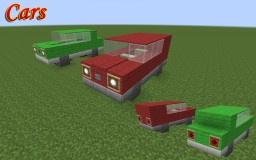Car Collection Minecraft Map & Project