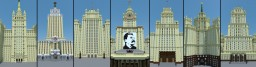 """Stalin skyscrapers"" Minecraft"
