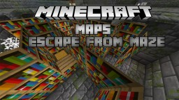 Escape From Maze By Ender's Team Minecraft Project