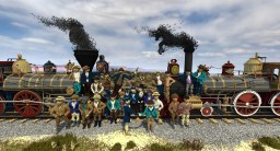 | The Wedding of the Rails | 148th ANNIVERSARY OF THE GOLDEN SPIKE CEREMONY Minecraft Project