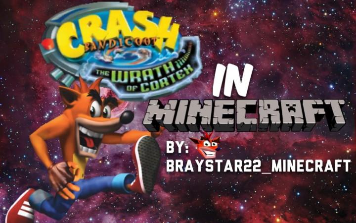 crash bandicoot 4 the wrath of cortex in minecraft minecraft project