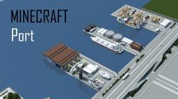 Minecraft Port/Docks Minecraft Map & Project