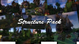 Structure Pack [Landscape, Environment, Houses and more] Minecraft Map & Project