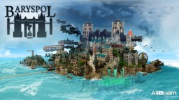 BARYSPOL the City of Two Towers -  Solo MCBuildcon 2017 Minecraft Map & Project