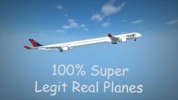 100% Legit Real Planes Minecraft Map & Project