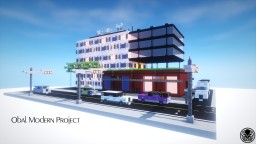 Obal Modern Project | Sub-Urban Residential & Commercial Minecraft Project