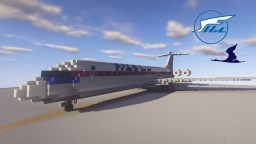 Air Koryo Ilyushin IL-62 Minecraft Project