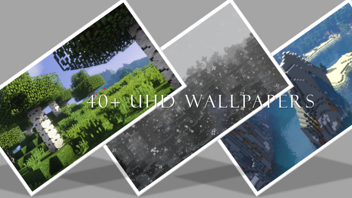 Uhd Wallpaper Pack Super Shader Minecraft Map