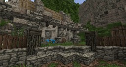 Medieval House - Miners Doom Minecraft Map & Project