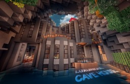 Luxurious Cave House Minecraft Map & Project