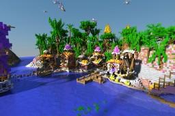 Enchanted Lagoon - Deathrun Minecraft Project