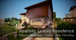 Ocean Drive - Huge Luxury Modern Mansion Minecraft Map & Project