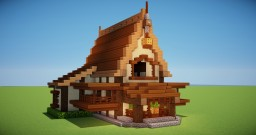 BIG RUSTIC HOUSE Minecraft Map & Project