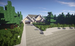 Suburban family home Minecraft Map & Project