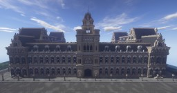 University Campus Main Building WIP Minecraft Project