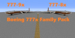 Boeing 777x Family Pack (Full Interior + Download)