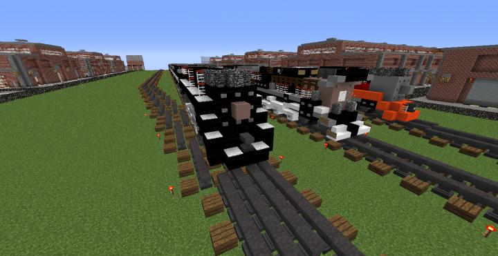 SP Empire builder, Matsuda RR Black Crow
