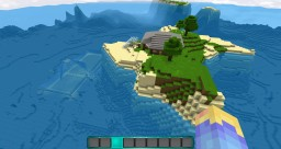Village sous l'eau Minecraft Map & Project