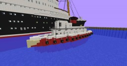 Harbour tug boat | 100 subs special Minecraft Project