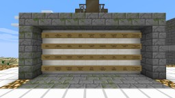 Armour Enchantment Wall Minecraft Map & Project