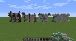 Medieval wall Minecraft Project