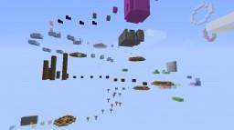 crazy fun parkour Minecraft Map & Project