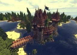 Burg Falkenstein Minecraft Map & Project