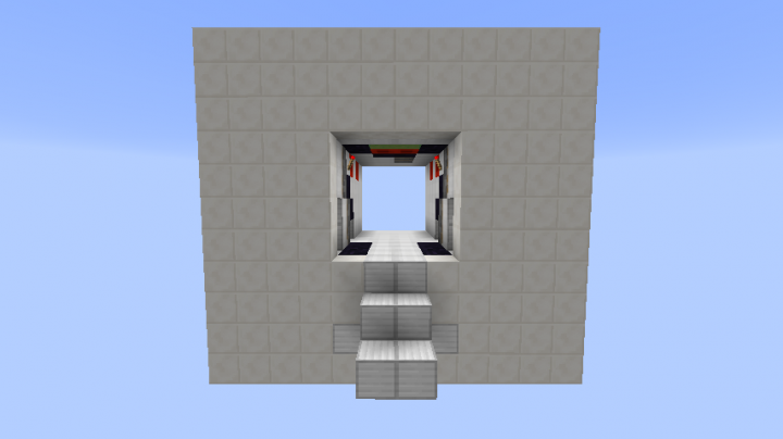 minecraft secret piston door 4x4