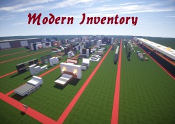 Modern Inventory Minecraft Map & Project