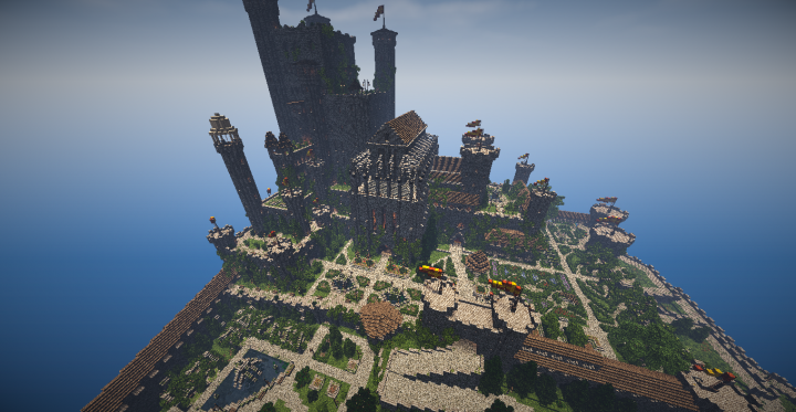 Red Keep Of Astaldor Minecraft Project