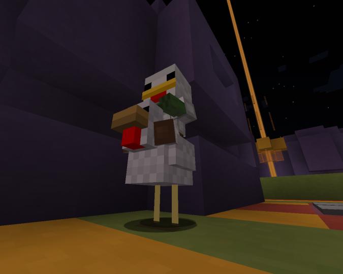 Zombie Chicken Rider