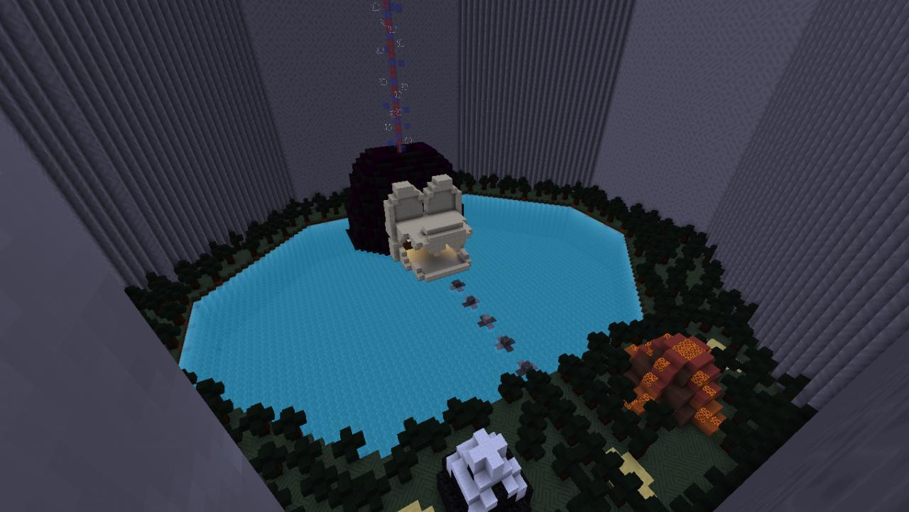 minecraft donkey kong map