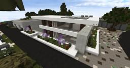 Amberstone Maison Moderne 2 Minecraft