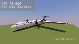 ATR72-600 Air New Zealand [+Download] Minecraft Map & Project