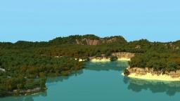 Lush Tropics (4k by 4k) Minecraft Project