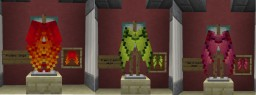 Additional Elytra's & Invisible armor [requires optifine] - Tron update! Minecraft
