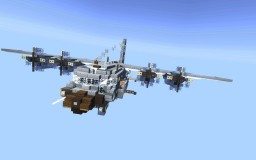 AC-130U Spooky II Gunship Minecraft Project