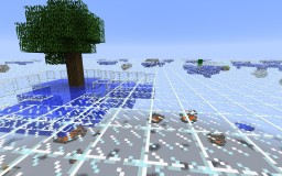 Glass World Minecraft Project