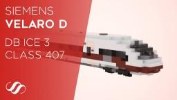 Siemens Velaro D, DB ICE 3 Class 407 EMU Train Minecraft Map & Project