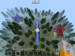 PVP Red Vs Blue battle Map Minecraft Map & Project