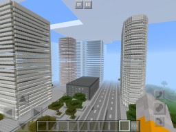 SkyScraper City Minecraft Map & Project