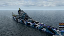 battleship shuri(inside implementated VER) Minecraft Map & Project