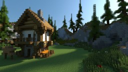 Medieval House Series - 1 Minecraft Map & Project