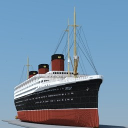 R.M.S Luella 4/1 Scale (French Super liner)